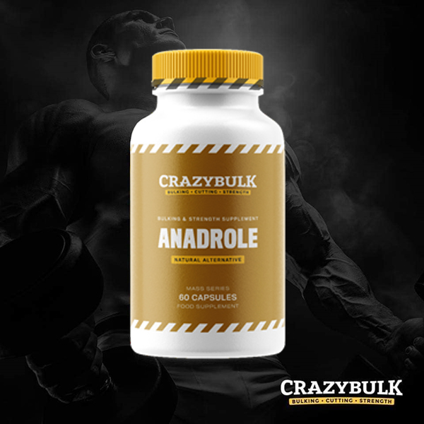CrazyBulk Anadrole Reviews: Increase Muscle Mass & Strength Fast